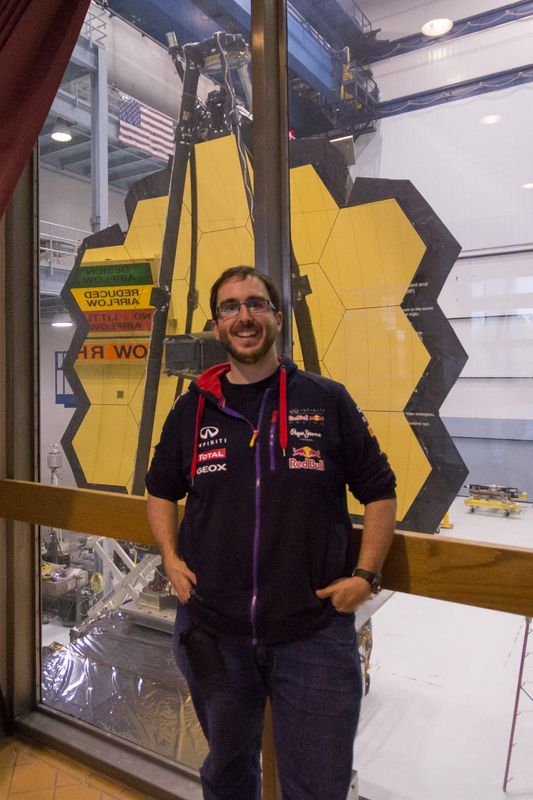 JP with the James Webb Space Telescope